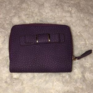 Handbags - Plum NEW Faux Leather New WAllet